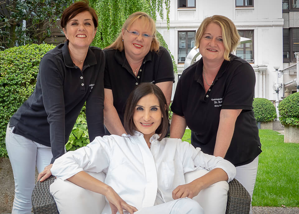 Foto Empfangsbereich Ausgang - Dr. med. Sema Kolay | Practice for gynaecology and obstetrics Heidelberg